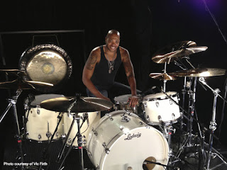 Franklin Vanderbilt drummer for International Rock Star, Lenny Kravitz