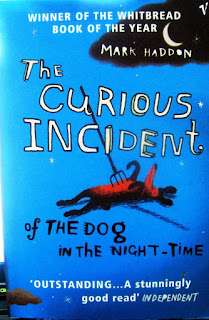 THE CURIOUS INCIDENT OF THE DOG IN THE NIGHT-TIME - BOOK COVER