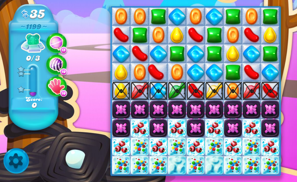 Candy Crush Soda Saga level 1199