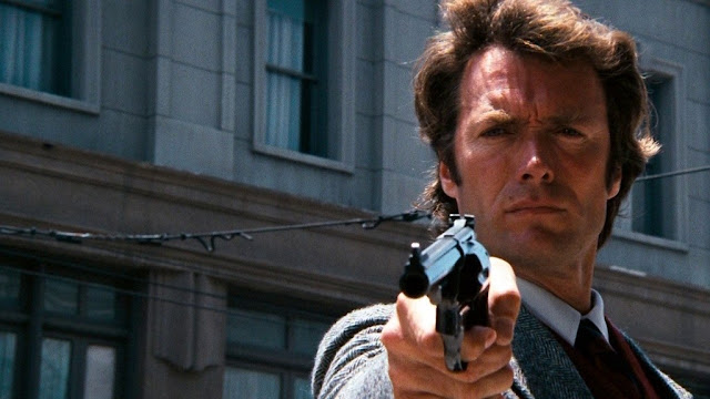 Clint Eastwood as Inspector Harry Callahan in Don Siegel's Dirty Harry