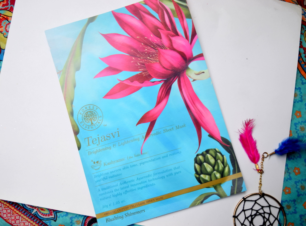 Forest Essential Tejasvi Lightening & Brightening Ayurvedic Sheet Mask