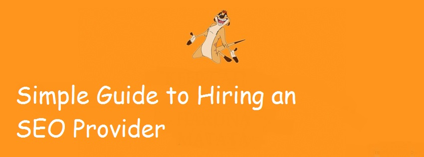 Simple Guide to Hiring an SEO Provider