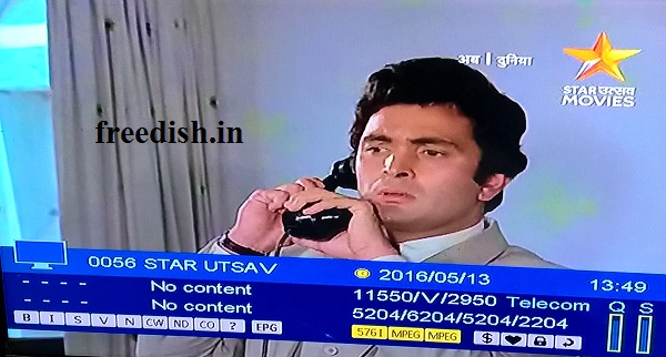 Star Utsav Movies added on DD Freedish