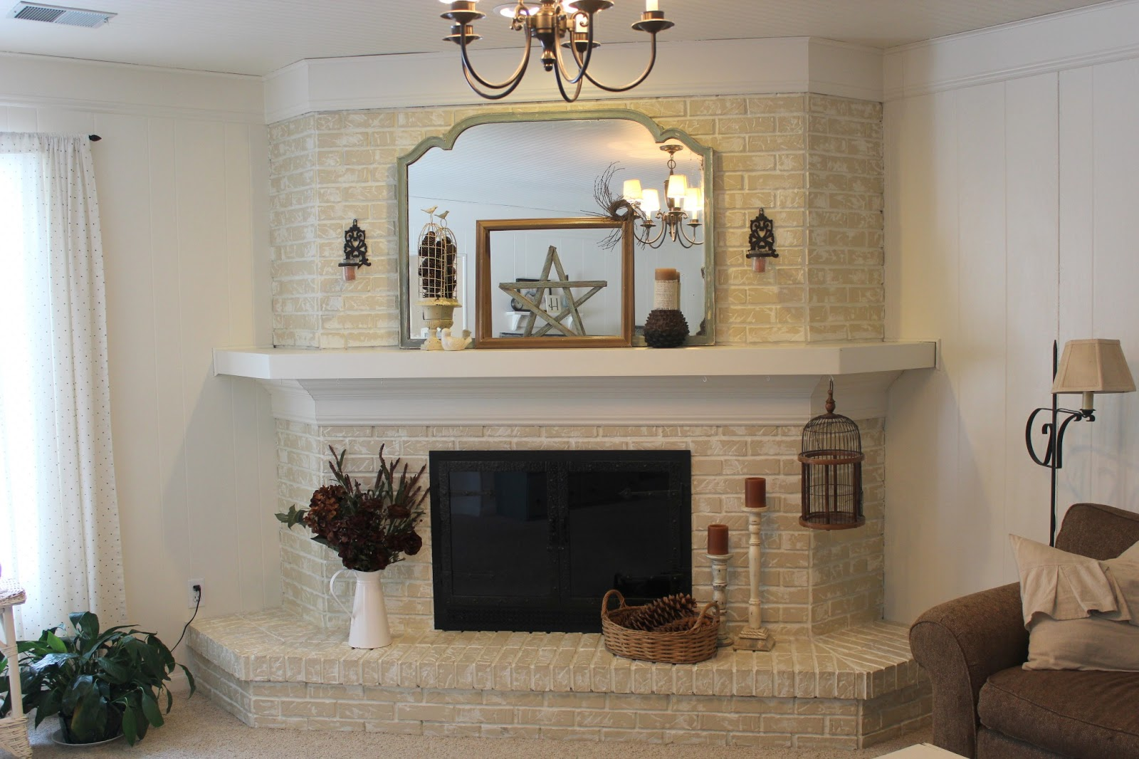 Brick Fireplace Makeover Cottage Instincts: ::about That Fireplace::