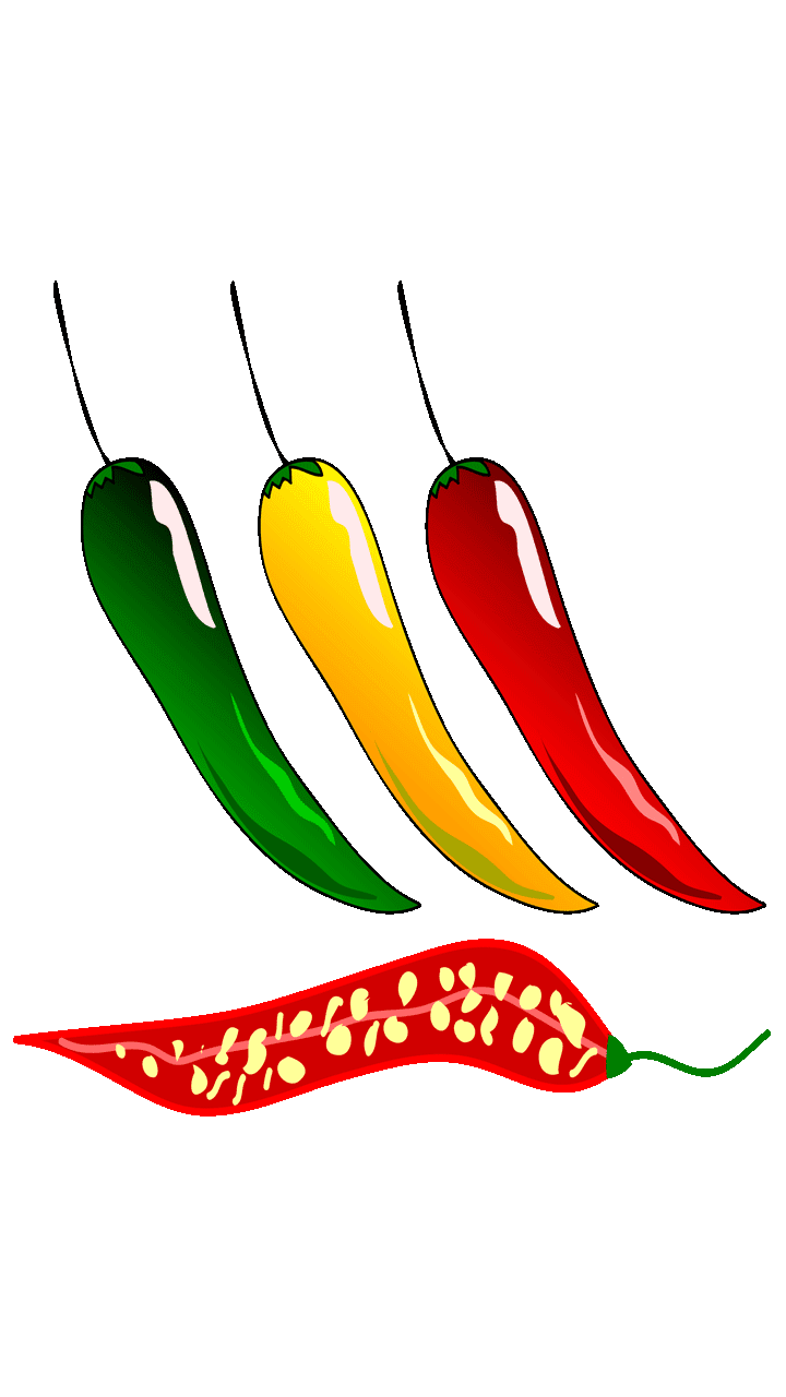 Download 17 Stunning Chili Pepper Clipart Fruit Names A
