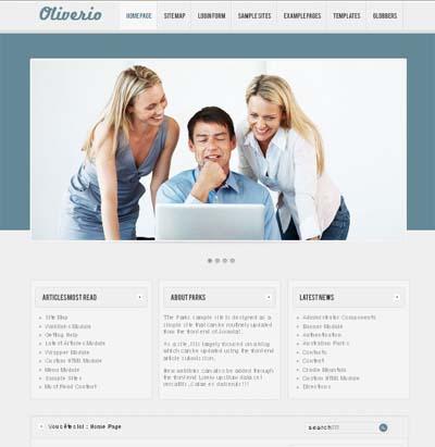 Free Oliverio Joomla 2.5 Template