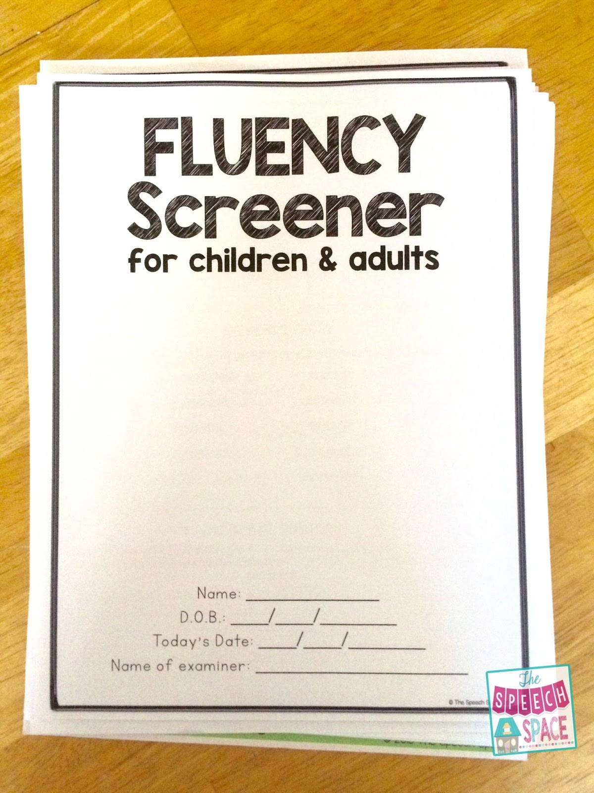 A Great Tool For Stuttering Cases The Fluency Screener