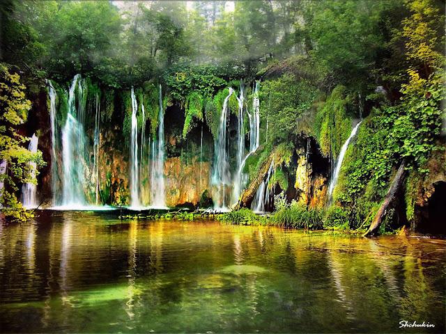 جولة سياحية أجمل البلاد مستوى العالم كرواتيا بليتفيتش The-music-of-water-at-Plitvicka-Lakes-Croatia.jpg
