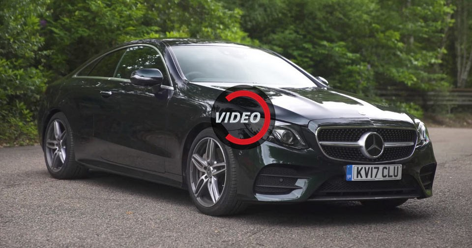 Mercedes benz e class coupe is much more than just a for How much mercedes benz