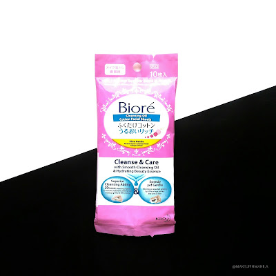 Biore Cleansing Oil Cotton Facial Sheets Review