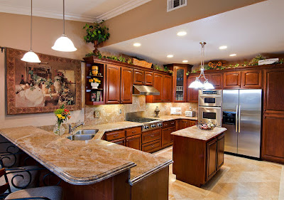 granite in kitchen