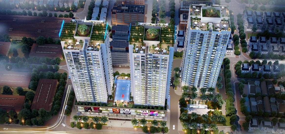 Phối cảnh tổng thể dự án Rivera Park Hà Nội