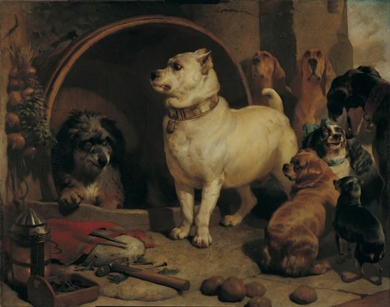 Alexander and Diogenes, Sir Edwin Landseer 1848.