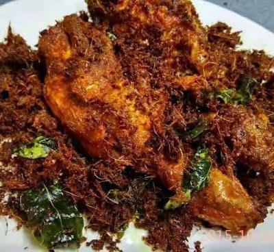 Resepi Ayam Goreng Berempah Dengan Serai Dan Lengkuas