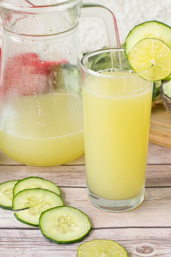 Easy Cucumber Juice