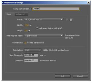 tutorial after effect mengatur composition