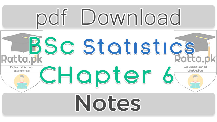 Bsc Statistics chapter 6 Probability Notes pdf