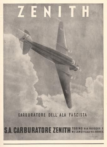 Zenith Fascist airplane ads worldwartwo.filminspector.com