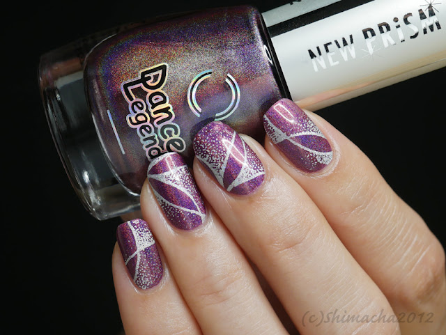 Dance Legend Optical Illusion, Yours cosmetics angular fade YLF09, スタンピングネイル、ダンスレジェンド