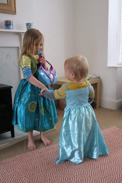Lily and Alexander Anna and Elsa