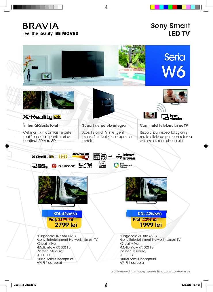 Catalog Oferte Si Promotii Oferte Sony La Carrefour Iasi August 2013