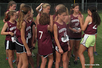 Montford girls cross-country team