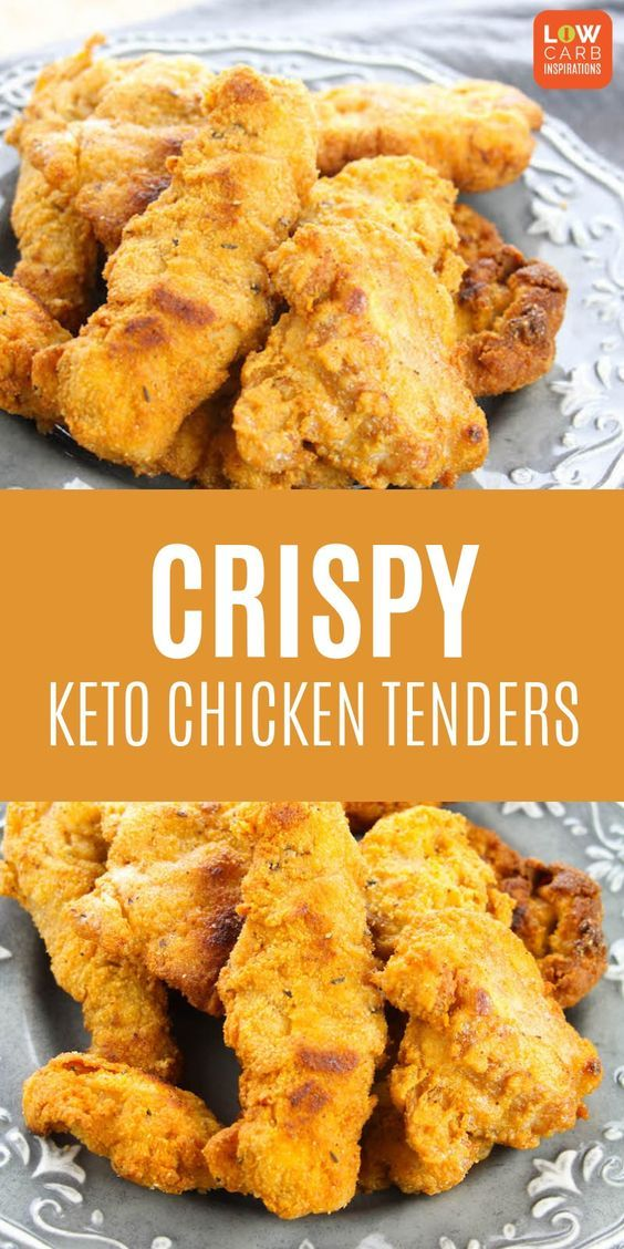 CRISPY KETO CHICKEN TENDERS