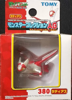 Latias figure Tomy Monster Collection AG series