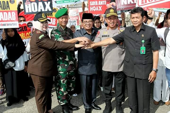Gubernur Jambi Hadiri Apel Gelar Pasukan Persiapan Pemilu un
