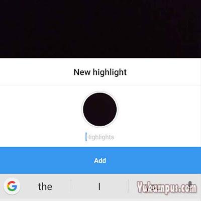 nama highlights instagram