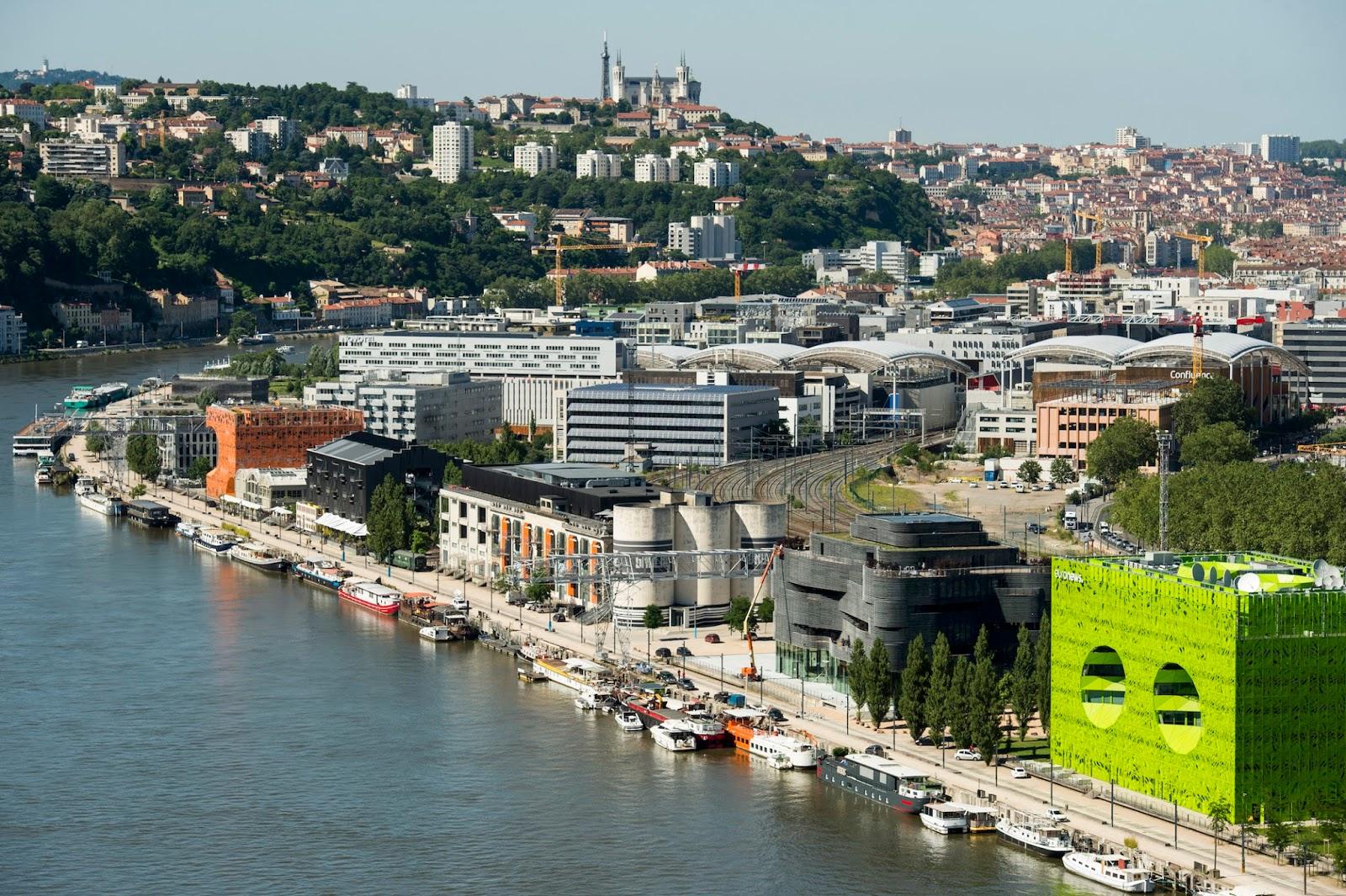 Quais de Saône Confluence visite guidée Lyon