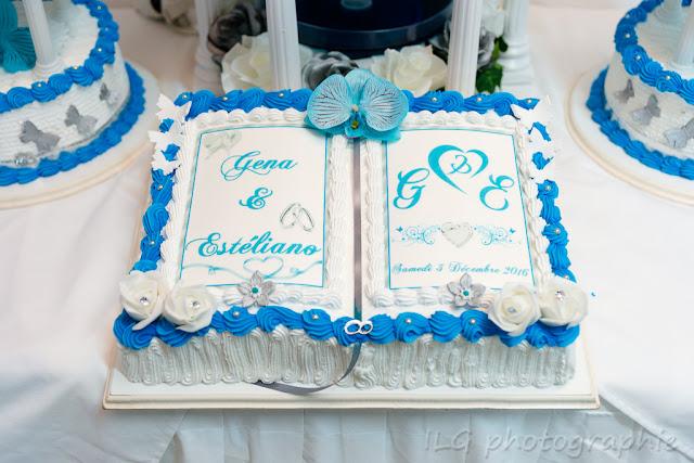 mariage Guadeloupe wedding cake