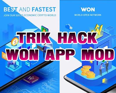 Trik Hack Aplikasi Won Dapatkan $99.99 gratis Apk Mod Terbukti Membayar 2019