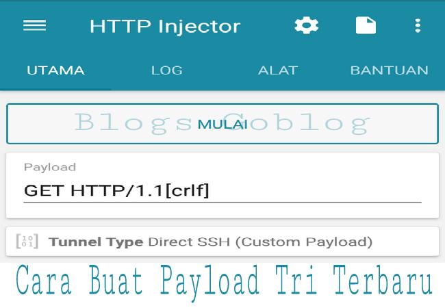 Cara Membuat Payload Config  3 Tri Three HTTP Injector Terbaru 2019 Terbaru