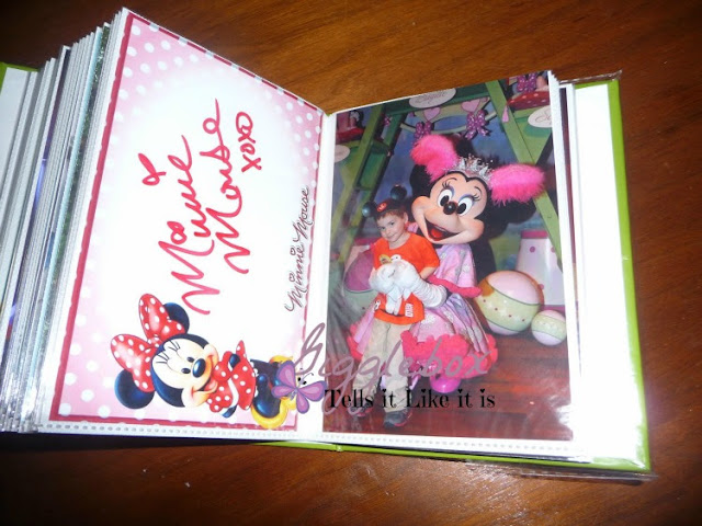a simple and easy way to make an autograph book for your next Disney vacation, Disney autograph book that even the characters themselves love,