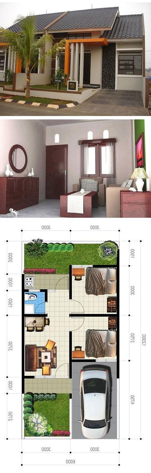 model rumah minimalis sederhana idaman