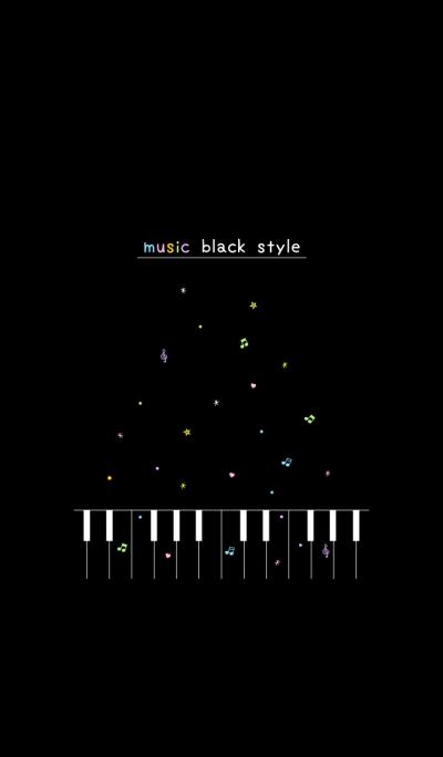 music black style