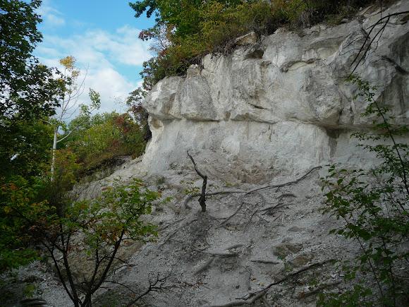Святогорск. Меловая гора