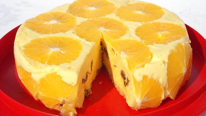 Tort de Portocale (Fără coacere) - Rețetă video