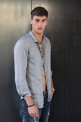 Alessio Pozzi at Elite Model Management Milano
