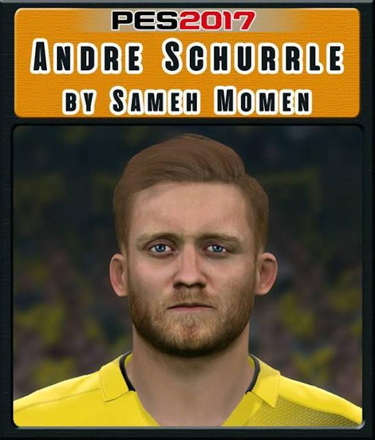 Andre Schurrle Face PES 2017