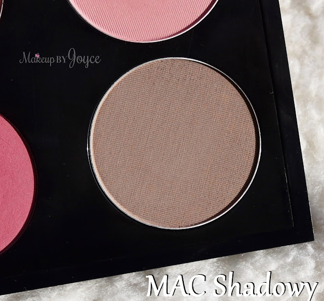 Mac Pro Sculpting Powder Shadowy Review Swatches