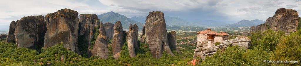 Panorámica Meteora Grecia