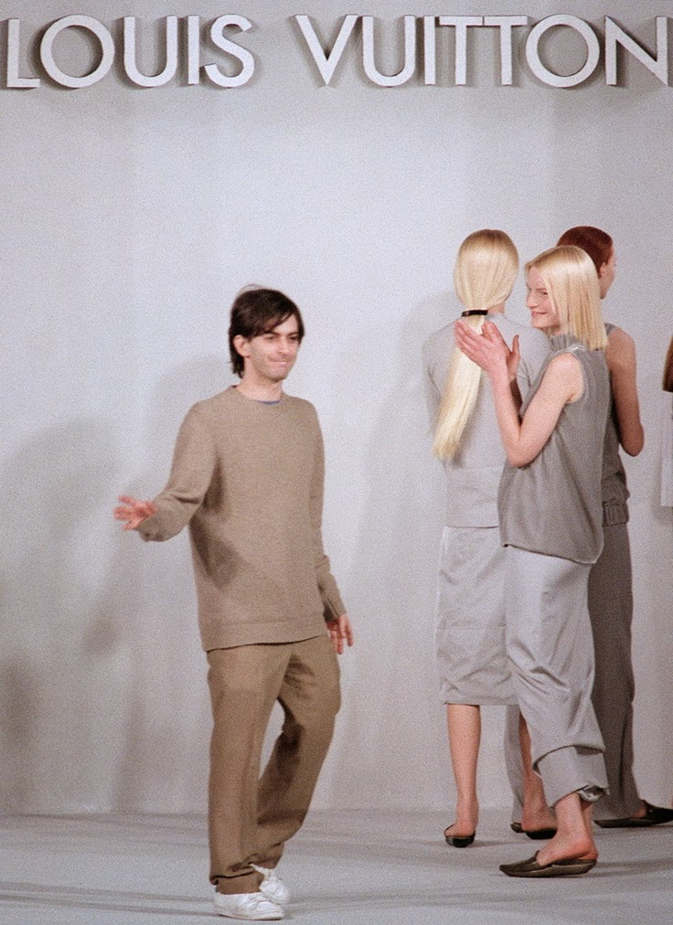 First Louis Vuitton show by Marc Jacobs FW 1998