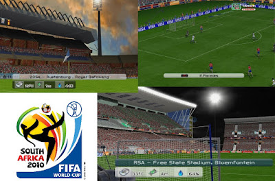 PES 6 Stadium World Cup 2010 South Africa