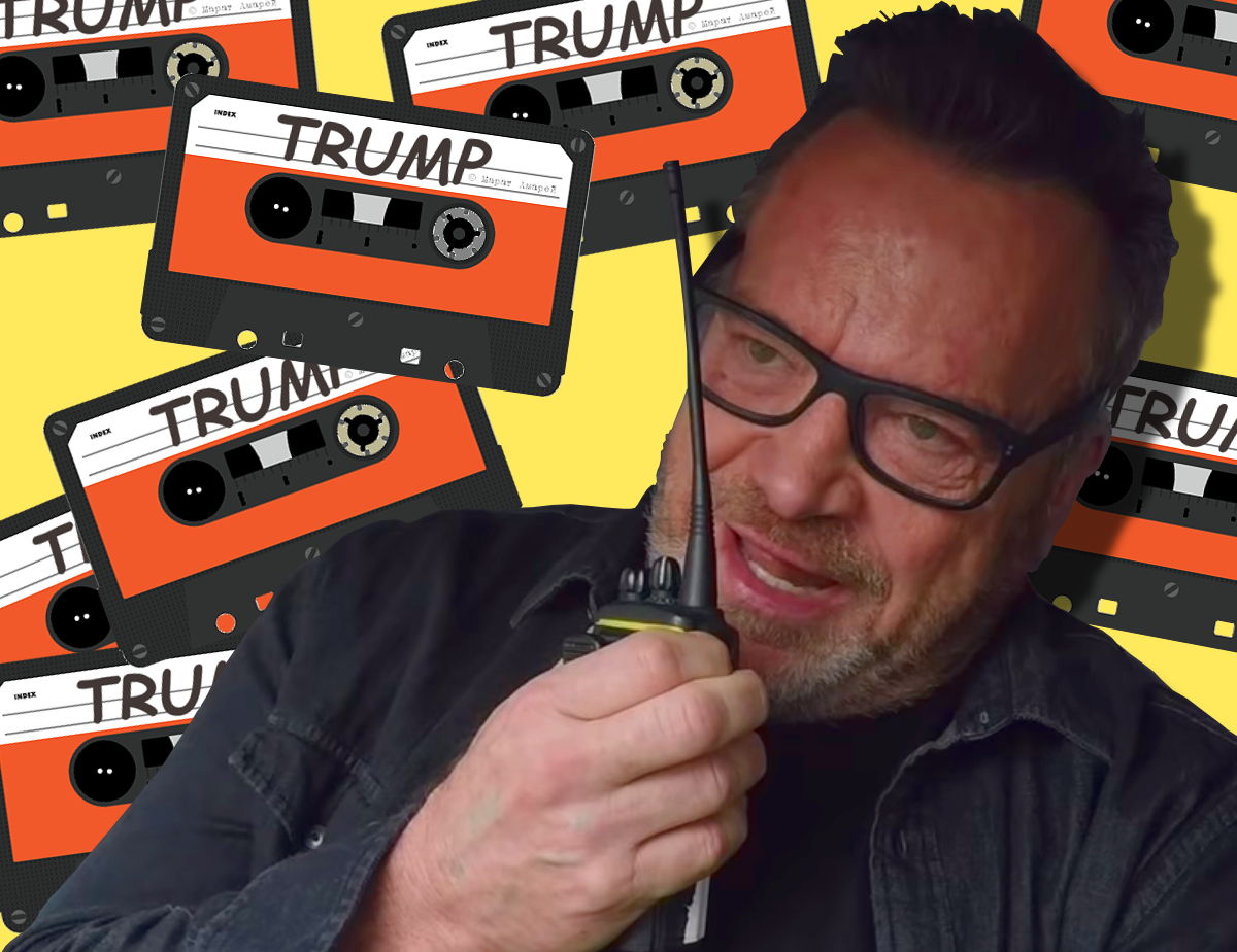 The Hunt for the Trump Tapes with Tom Arnold, Trump bully meme
