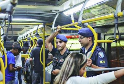 População aprova policiamento da Guarda Municipal de Belo Horizonte (MG) em ônibus