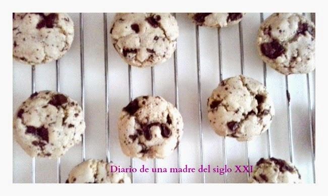 Recetas para hacer con niños: Galletas con chispas de chocolate