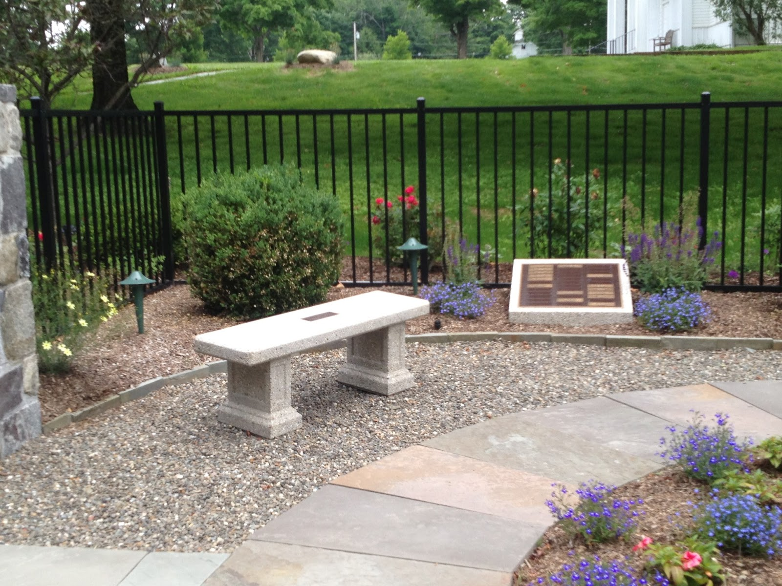 Awesome Remembrance Garden Doty Concrete Short Links Chair Design For Home Short Linksinfo