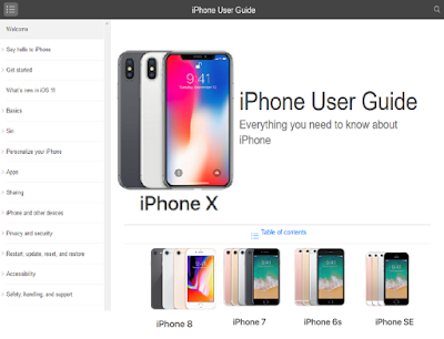 iPhone X User Guide, iPhone X Manual